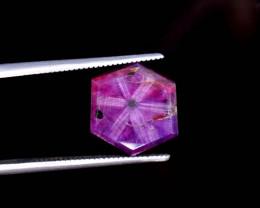 5.70 Cts Natural Kashmir Corundum Trapiche Gemstones