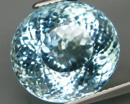 Unheated - 12.53  ct Natural Blue Aquamarine – IGI Certificate