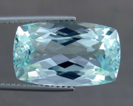 Unheated - 14.60 ct Natural Blue Aquamarine – IGE Certificate