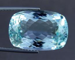 Unheated - 17.05 ct Natural Earth Mined Blue Aquamarine – IGE Certificate