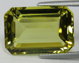 17.38 Ct. Natural Earth Mined Beryl Heliodor  Unheated - IGI - CERTIFIED
