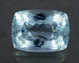Unheated - 77.84  ct Natural Earth Mined Blue Aquamarine – IGE Certificate