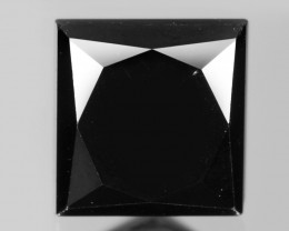 Diamond 0.60 Cts Amazing Rare Fancy Black Color Natural Loose