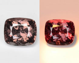 Garnet 2.05 Cts Untreated Natural Color Changing Gemstone