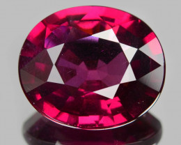 4.32 Cts Unheated Natural Cherry Pinkish Red Rhodolite Garnet Gemstone