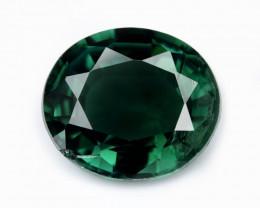 Green Tourmaline 0.78 Cts Natural Loose Gemstone