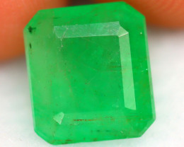 Emerald 2.03Ct Natural Zambia Green Emerald D0219/A38
