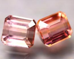 Tourmaline 2.58Ct 2Pcs Natural Pink Tourmaline ES0301/B48