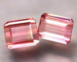 Tourmaline 2.26Ct 2Pcs Natural Pink Tourmaline ES0303/B48