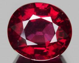 6.51 Cts Unheated Natural Cherry Pinkish Red Rhodolite Garnet Gemstone