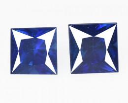 0.62 Cts Amazing Rare Natural Fancy Blue Ceylon Sapphire Loose Gemstone