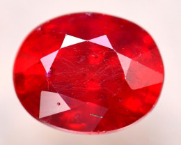 Ruby 3.64Ct Madagascar Blood Red Ruby E0308/A20