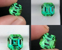5.25 ct Mint Green Tourmaline From Afghanistan