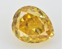 0.06 cts  , Naturally Colored Diamond , Loose Diamond Gemstone