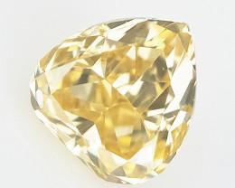 0.08 cts  , Natural Colored Diamond , Loose Diamond Gemstone