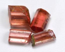 Tourmaline 13.55Ct Natural Pink Tourmaline Rough Lot B4011