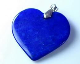 NR!!!! 57.70 CTs Natural - Unheated Blue Lapis Pendant