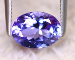 Tanzanite 1.52Ct Natural VVS Purplish Blue Tanzanite DD0402/D4