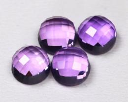 Amethyst 3.98Ct Fancy Cut Natural Purple Amethyst Lot AB4031