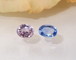 1.04ct natural unheated sapphire