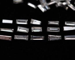 lote de barras de diamantes 1ct