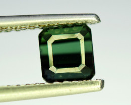 NR Auction 1.85 CT Top Quality Bluish Green Tourmaline Natural Gemstone