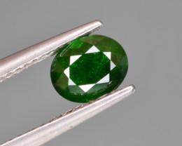 Natural Demantoid Garnet 1.18 Cts, Good Quality Gemstone