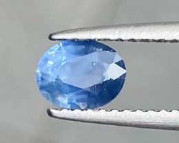 Unheated Natural Sapphire 0.85 Cts