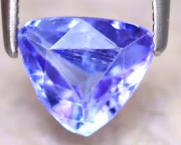 Tanzanite 1.22Ct Natural Purplish Blue Tanzanite D0413/D3