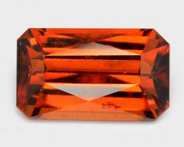 7.82 Cts Fancy Orange Red Color Natural Hessonite Garnet Gemstone