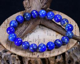 163.85Ct Natural Lapis Lazuli Beads Bracelet AB4252