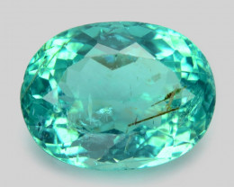 Green Blue Apatite 4.74 Cts Un Heated Natural Loose Gemstone