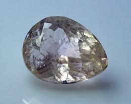 NR!!!! 14.90 Cts Natural - Unheated Light Pink Kunzite Gemstone
