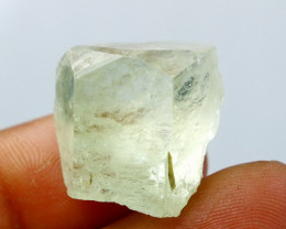 NR!!!! 44.75 Cts Natural - Unheated Green Beryl Crystal