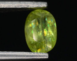 Rare AAA Astonishing Fire 0.70 ct Chrome Sphene