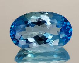 10.25Crt Blue Topaz Natural Gemstones JI31