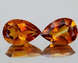 2.28Crt Madeira Citrine Natural Gemstones JI31
