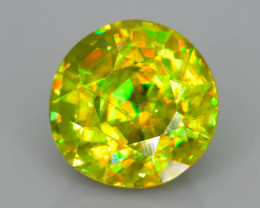 Rare AAA Fire 2.84 ct Sphene Sku-62