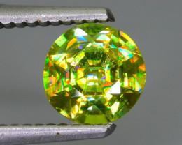 6 Colors Spectrum Green Sphene 1.27 ct Madagascar Mined Sku-62