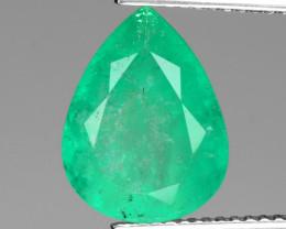 4.33 Cts Natural Vivid Green Colombian Emerald Loose Gemstone