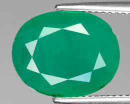 *NoReserve*Colombian Emerald 5.93 Cts Natural Vivid Green Gemstone