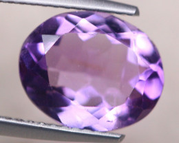 3.08ct Natural Purple Amethyst Oval Cut Lot V8467