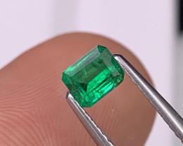Afghanistan Panjshir Emerald AAA Quality Vivid Green Natural Color 0.40 Cts