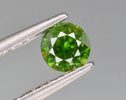 Natural Demantoid Garnet 0.62 Cts, Good Quality Gemstone