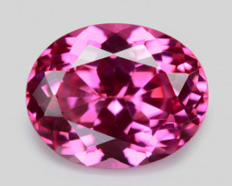0.41 Cts Oval 5.12x2.56 mm Un Heated Pink Color Natural Spinel Gemstone