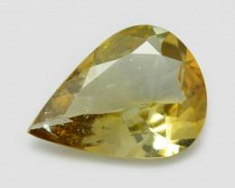 Tanzanite 0.95 Cts Amazing rare Yellow Color Natural Gemstone