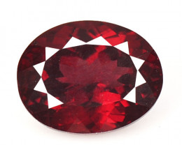 *No Reserve* Garnet 2.39 Cts Unheated Natural Cherry Pinkish Red Rhodolite