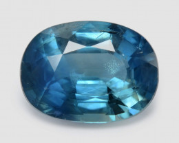1.71 Cts Amazing Rare Natural Fancy Blue Sapphire Loose Gemstone