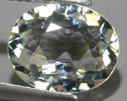 3.15 CTS FANTASTIC HUGE AWESOME  NATURAL OVAL CUT AQUAMARINE~
