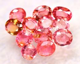 Tourmaline 8.05Ct 12Pcs Natural Pink Tourmaline EE0502/B31
